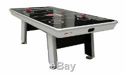 Atomic Avenger 8' Hockey Table with LED Scoring and 120V Blowers for Exhilarati