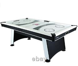Atomic Blazer 7 Air Hockey Table with Electronic Score Keeping with Rail-integr