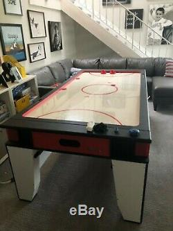 Atomic Brand G05214W 7-Foot Flip Top Game Table Hockey and Pool Table