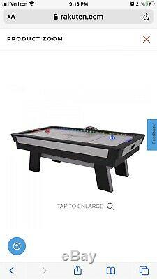 Atomic Top Shelf 7.5 Air Hockey Table with 120V Motor for Maximum Air Flow