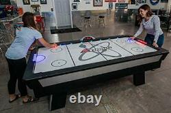 Atomic Top Shelf 7.5 Air Hockey Table with 120V Motor for Maximum Air Flow, Hig
