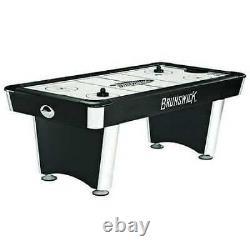 BRUNSWICK BILLIARDS 51870697002 Windchill Air Hockey Table, Aluminum Rail