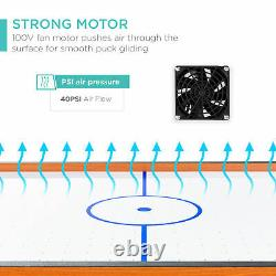 Best Choice Products 40in Air Hockey Arcade Table for Game Room, Living Room with