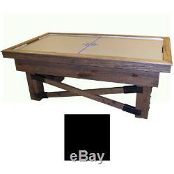Black Maple Dynamo Rustic Air Hockey Table