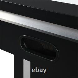 Bowery Hill Air Hockey Table in Black