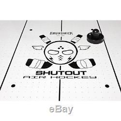 Brunswick Shutout 7-Foot Air Hockey Table
