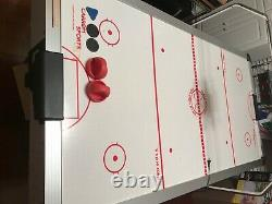 Carrom Sports Air Hockey Table 7 Foot Table Good Condition Works Well Great Gift