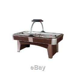 Cherry Finished Cabinet Sleek Monarch 32-in x 48-in x 84-in Air Hockey Table
