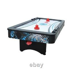 Crossfire 42 in. Tabletop Air Hockey Table with Mini Basketball Game