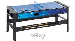 Deluxe Multi Games Table Pool, Air Hockey, Table Tennis, Archery, Basketball