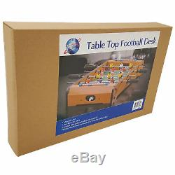 Desktop Tabletop Football Soccer Mini Table Game Kids Fun Sports Toy Xmas Gift