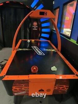Dynamo Fire Storm Air Hockey Table Coin Operated