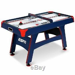 ESPN 60 Air Powered Hockey Table with Overhead Electronic Scorer, UL Certified