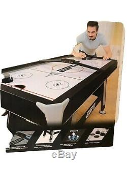 ESPN 60 Inch Air Powered Hockey Table with Overhead Scorer, Local Pick Up Only