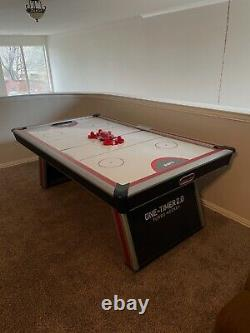 ESPN Air Hockey Game Table Red/White/Black (Pre-owned)