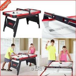 ESPN Air Powered Hockey Table with Overhead Electronic Scorer Game Room FUn Play