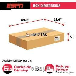 ESPN Premium 84 Inch Air Powered Hockey Table with LED Touch Screen Scorer