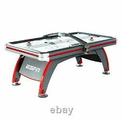 ESPN Sports Air Hockey Game Table 84 Inch Indoor Arcade