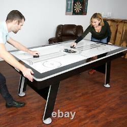 EastPoint Sports 80 NHL Air Powered Hover Hockey Table with Table Tennis Top