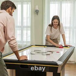 EastPoint Sports 80 Triple-Deke Hover Hockey Table for Indoor Play Arcade Ga