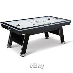 Electronic 84-inch X-Cell Air Powered Hover Hockey Table Indoor Game Room Play