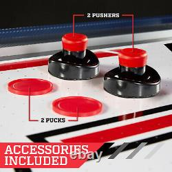 Electronic Scorer Overhead Air Hockey Table Sports Playtime Blue/Red, 60 size