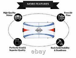 Eros 5.5-Foot Folding Air Hockey Table Gray