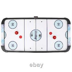 Face-Off 5-Foot Air Hockey Game Table for Family Game Rooms w Electronic Scoring