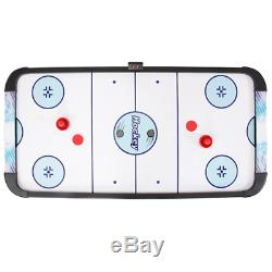 Face-Off 5 Ft. Air Hockey Game Table For Family Game Rooms With Electronic Scori