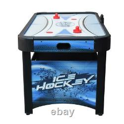 Face-Off 5 ft. Air Hockey Game Table with Electronic Scoring, Pucks and Strikers