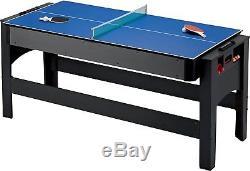 Fat Cat 3 In 1 Flip Game Table Pool, Tennis, Air Hockey