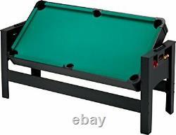 Fat Cat Original 3-in-1, 6-Foot Flip Game Table Air Hockey, Billiards and