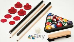 Fat Cat Original 3-in-1, 7-Foot Pockey Game Table Air Hockey, Billiards and Tab