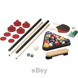 Fat Cat Original Pockey 3-In-1 Pool/ Billiard Air Hockey Table Tennis Game Table