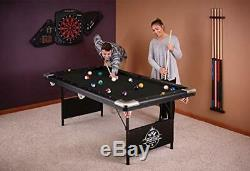 Fat Cat by GLD Products Fat Cat Trueshot 6 Pool Table with Folding Legs for Eas
