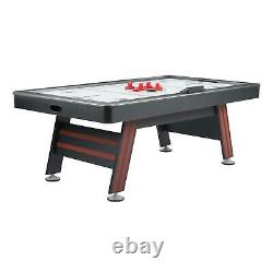 Game Room Air Hockey Table w High End Blower Electronic Scorer + Sound Effects
