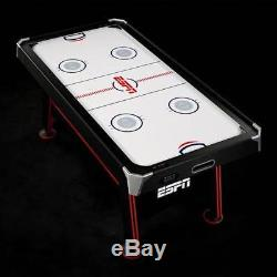Game Room Family ESPN Air Powered Hockey Table with Tennis Top & In-Rail Scorer