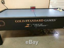 Gold Standard Home Pro Elite Air Hockey Table Excellent Used LOCAL PICKUP ONLY
