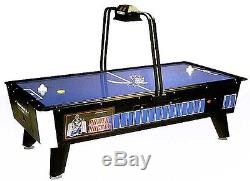 Great American 8' Face Off Home Air Hockey Table WithElectronic Overhead Scoring