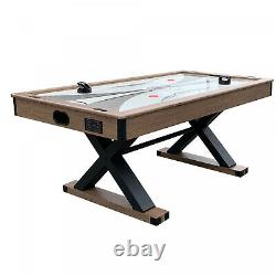 Hathaway Excalibur 6' Air Hockey Table with Table Tennis Top Rec Room Fun @@