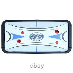 Hathaway Face-Off Air Hockey Game Table, 5-ft, White/Blue FREE SHIPPING