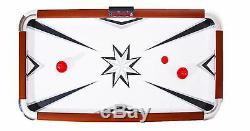 Hathaway Midtown 6 ft. Air Hockey Table Game Arcade Games Indoor Pucks Strikers