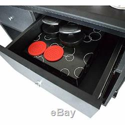 Hathaway Multi-Purpose Game Room Caddy For Billiards, Table Tennis, Air Hockey