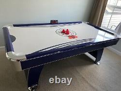 Hathaway Phantom 7.5-Foot Air Hockey Game Table