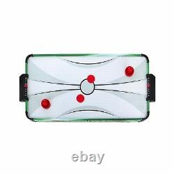 Hathaway Power Play 40-in Portable Table Top Air Hockey for Kids, Green