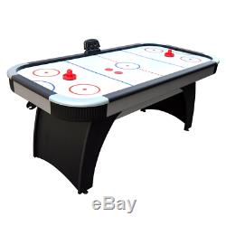 Hathaway Silverstreak 6-Foot Air Hockey Game Table for Family Game Rooms with