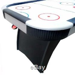 Hathaway Silverstreak 6 ft. Air Hockey Game Table for Family Game Rooms with