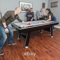 Hockey Table 84 Inch X-Cell Hover 2 Pushers And 2 Pucks Included LED Scoring
