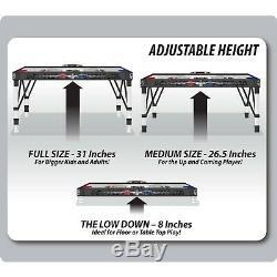 Hockey Table Air Hockey 54 Inch Air Powered Folding Adjustable Arcade Game