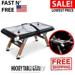 Hockey Table Game Air Powered Table Electronic Scorer Cover Black 8 Feet Gift